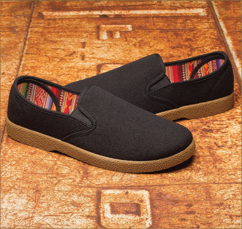 Kingston Union MFG The wino slip on Black/ Gum