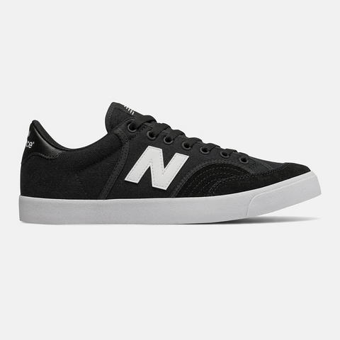 New Balance Pro Court 212 Black/ White Skate Shoes (pair)