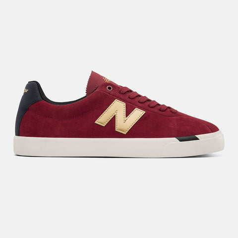 New Balance Numeric NM22 Red with Gold