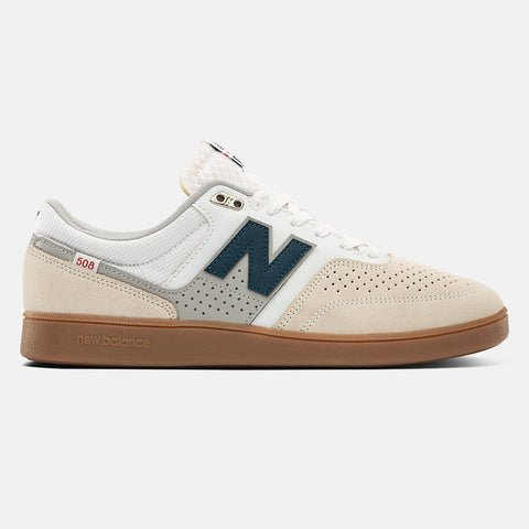 New Balance Numeric #508 Brandon Westgate White/  White with Blue