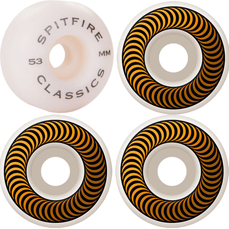 Spitfire Classic 53mm 99d Skateboard Wheels