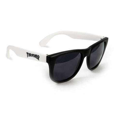 Thrasher White and Black Sunglasses