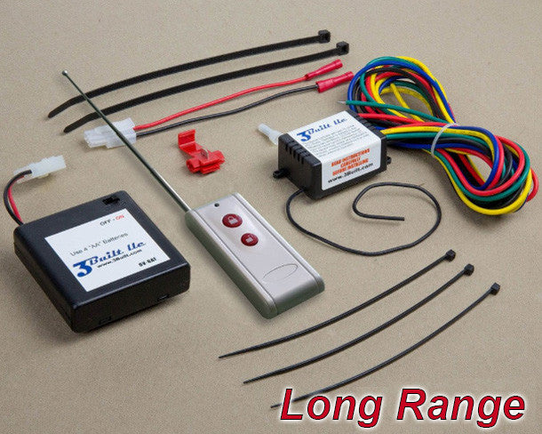 RES126VXE - Long Range Kit for ALL Standard Vehicles & Equipment