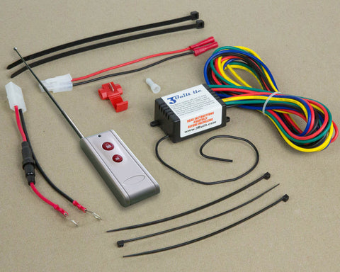 RES12VXE - Long Range kit for vehicles WITH a 12-volt starter battery