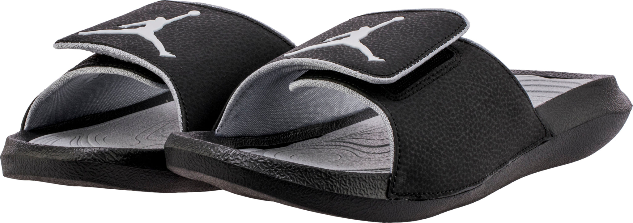 b33e6b0bd212 Nike Jordan Hydro 6 Black White Wolf Grey Men s Sandals Size 14 ...