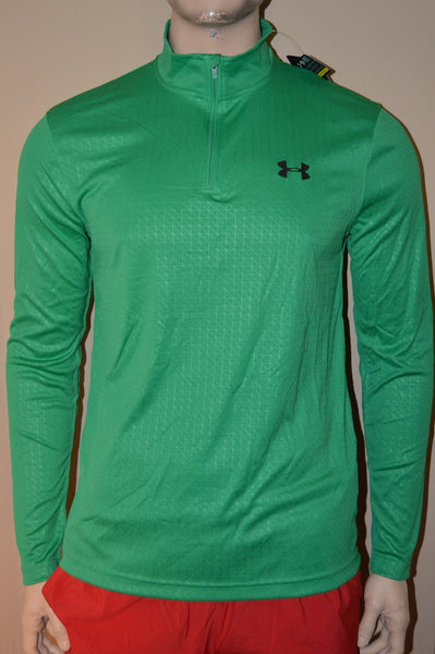 Under Armour Men's 1/4 Zip Loose Fit Long Sleeve Shirt Size M