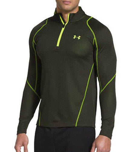Under Armour Men's UA ColdGear® Infrared Grid ¼ Zip Mock Shirt Size S