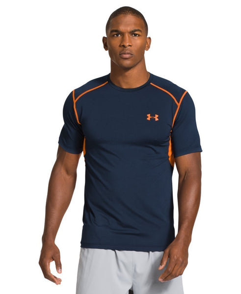 Under Armour Men's UA HeatGear Armour Vent Perf Fitted T-Shirt Size L