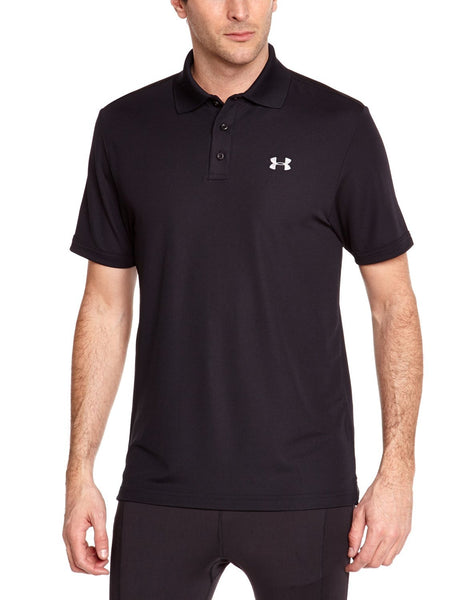 Under Armour Men's Performance Black Men's Polo Shirt Size S