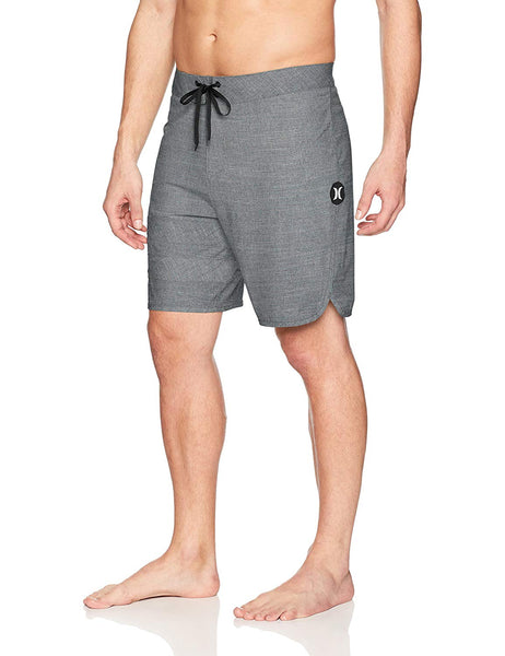 Hurley Phantom Block Party Slub Board Shorts Gray Size 38