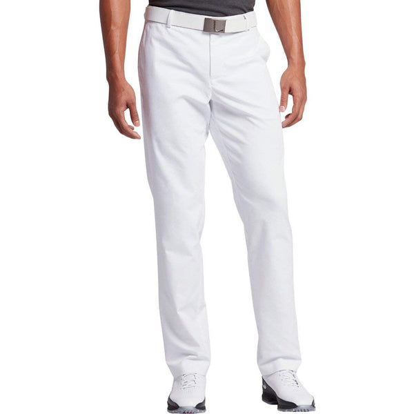 2017 Nike Modern Fit Washed Golf Pants White Size 36/32