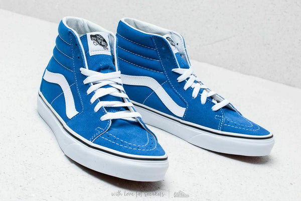 Vans SK8 Hi Lapis Blue/True White Men's Classic Skate Shoes Size 13