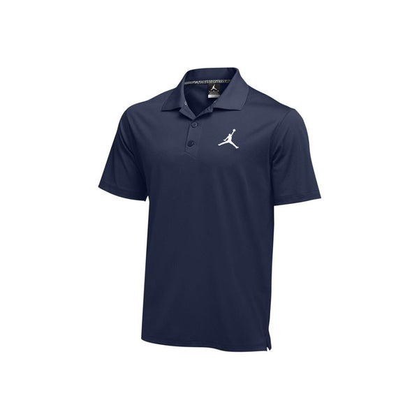 Nike Court Dry Jordan Navy Blue Polo Shirt Size M