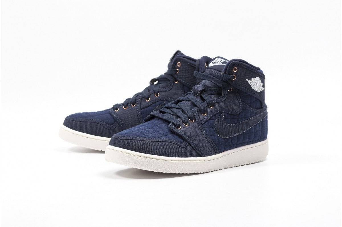 Nike Air Jordan 1 KO High OG Obsidian/White Men's Basketball Shoes Size 11