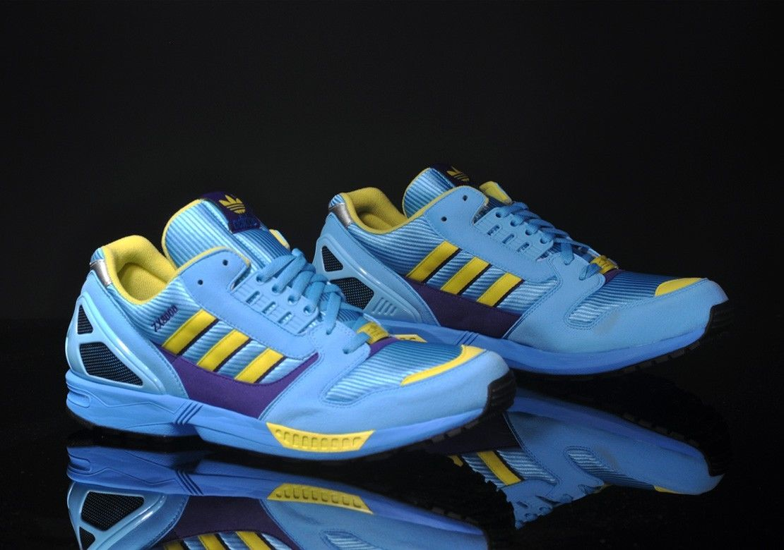 Adidas Originals Torsion ZX 8000 Aqua Men's Classic Retro Shoes Size 13.5