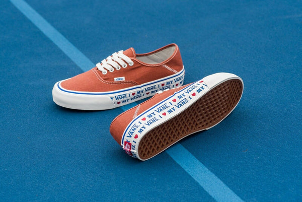 Vans Authentic Sf Salt Wash Potter's Clay Men's Skate Shoes Size 9
