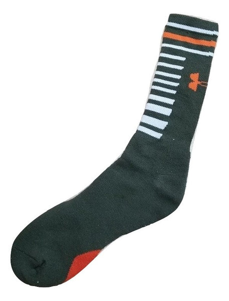 Under Armour Men's Performance Crew Sock Large
