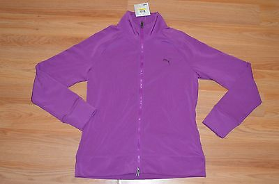 Women's Puma Fitness Sparkling Grape Jacket Size M