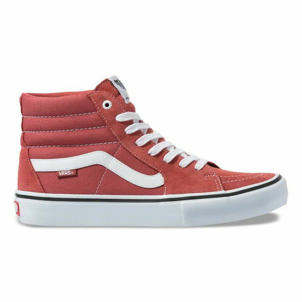 Vans Sk8 Hi Pro Mineral/True White Men's Skate Shoes Size 8.5