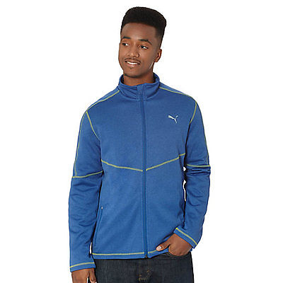 Puma Tek Poly Fleece Blue/Limogues Men's Jacket Size S