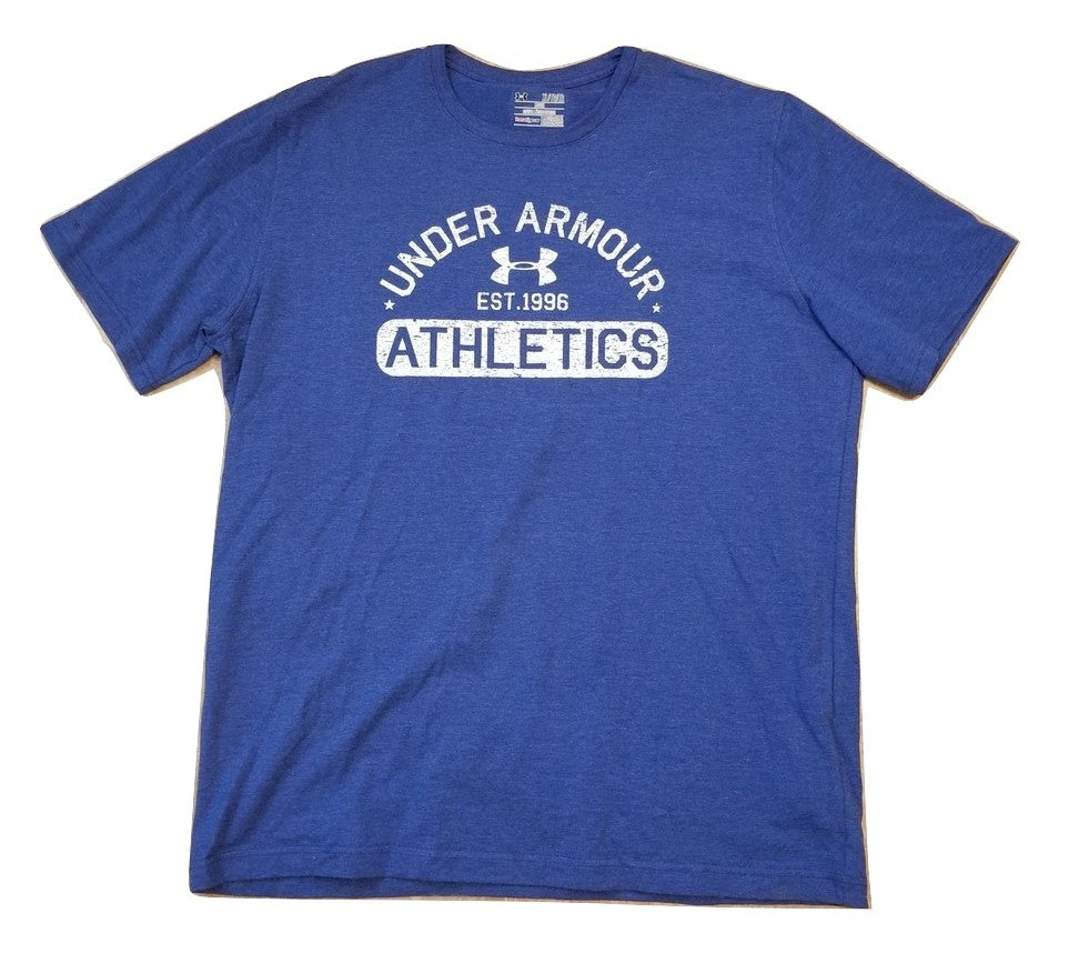 Under Armour Athletics Loose Short Sleeve Training T Shirt Size XL