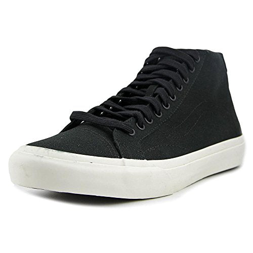 Vans Court Mid Canvas Black Men's Classic Skate Shoes Size 8