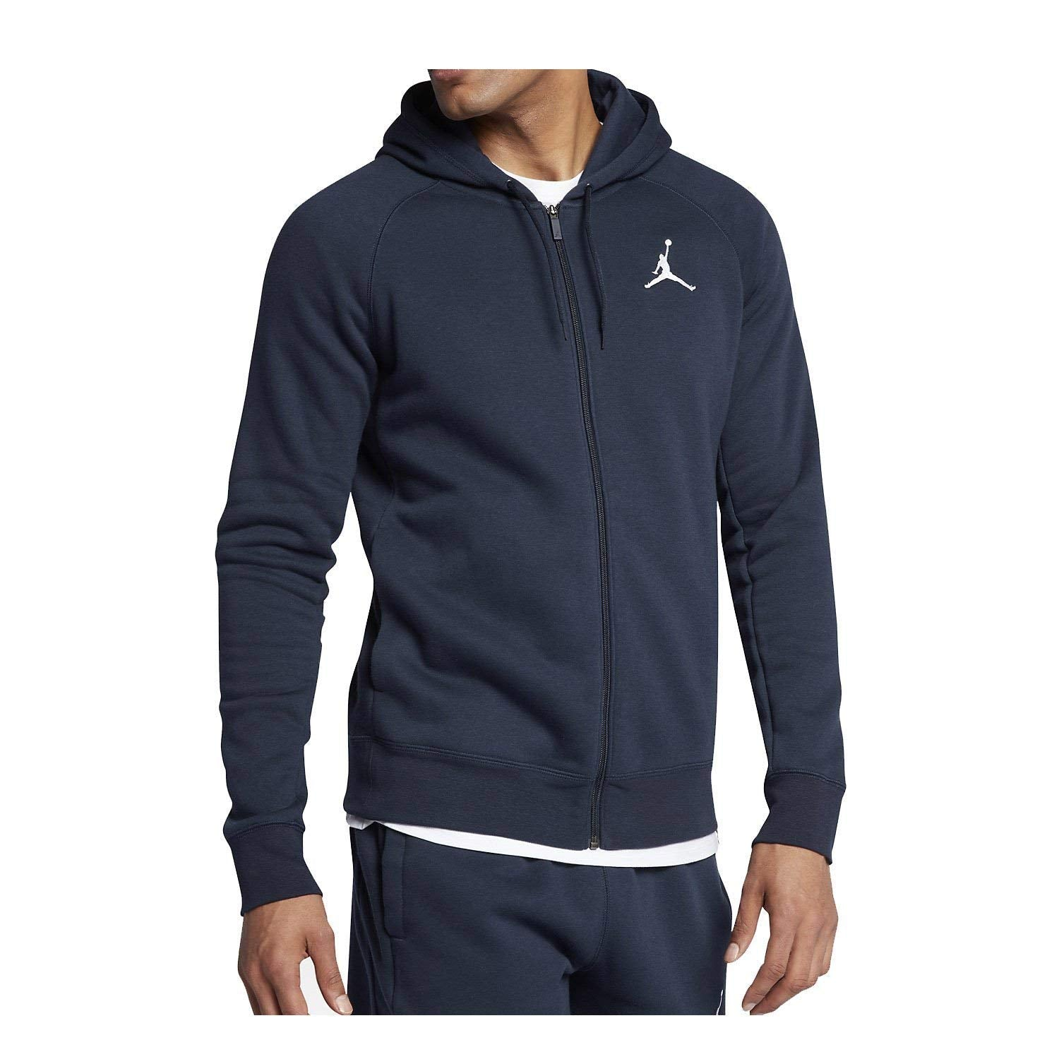 Nike Air Jordan Jumpman Full-Zip Fleece Men s Basketball Hoodie Jacket Size  2XL 70d70844aeb58