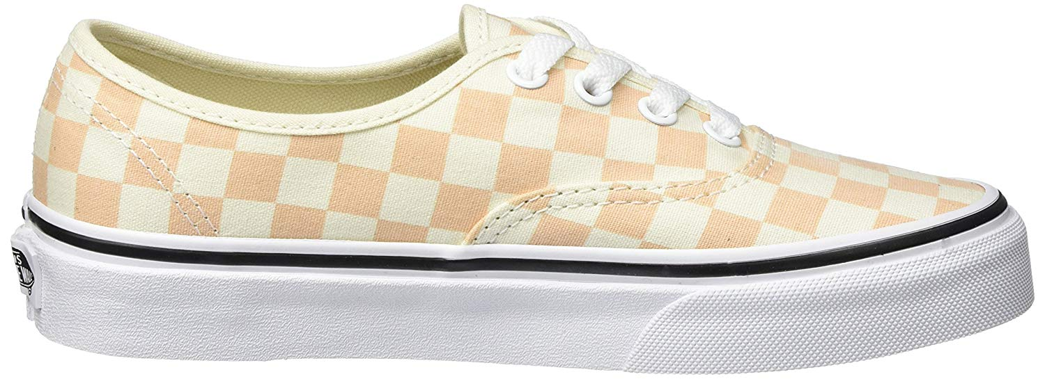 Vans Authentic Checkerboard Apricot Ice Men's Skate Shoes Size 10.5