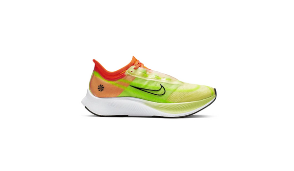 Nike Womens Zoom Fly 3 Rise Luminous Green/Black Starfish Running Shoes Size 7.5