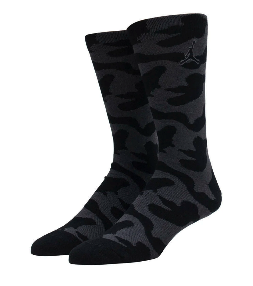 Nike Jordan P51 Men's Crew Camo Socks Size Large (8-12)