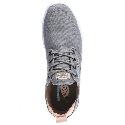 Vans Brigata Lite C&L Frost Grey Men's Classic Skate Shoes Size 8