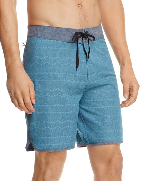Hurley Phantom Phantom Pismo Striped Board Shorts Blue Size 38