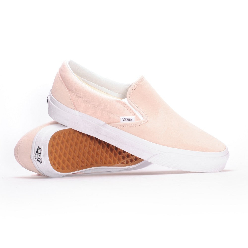 Vans Classic Slip On Suede Sepia Rose Men's Classic Skate Shoes Size 12