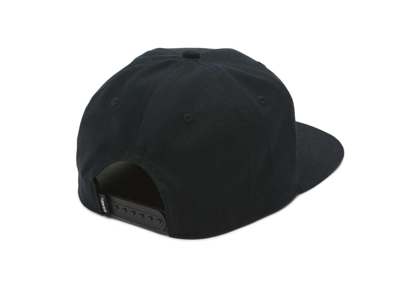 ac4a1a7f Vans Leather Rip-B Black Snapback Hat One Size