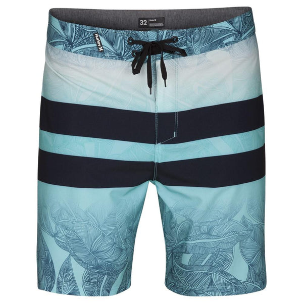 "Hurley Phantom Blackball Lush 18"" Board Shorts Obsidian Size 40"