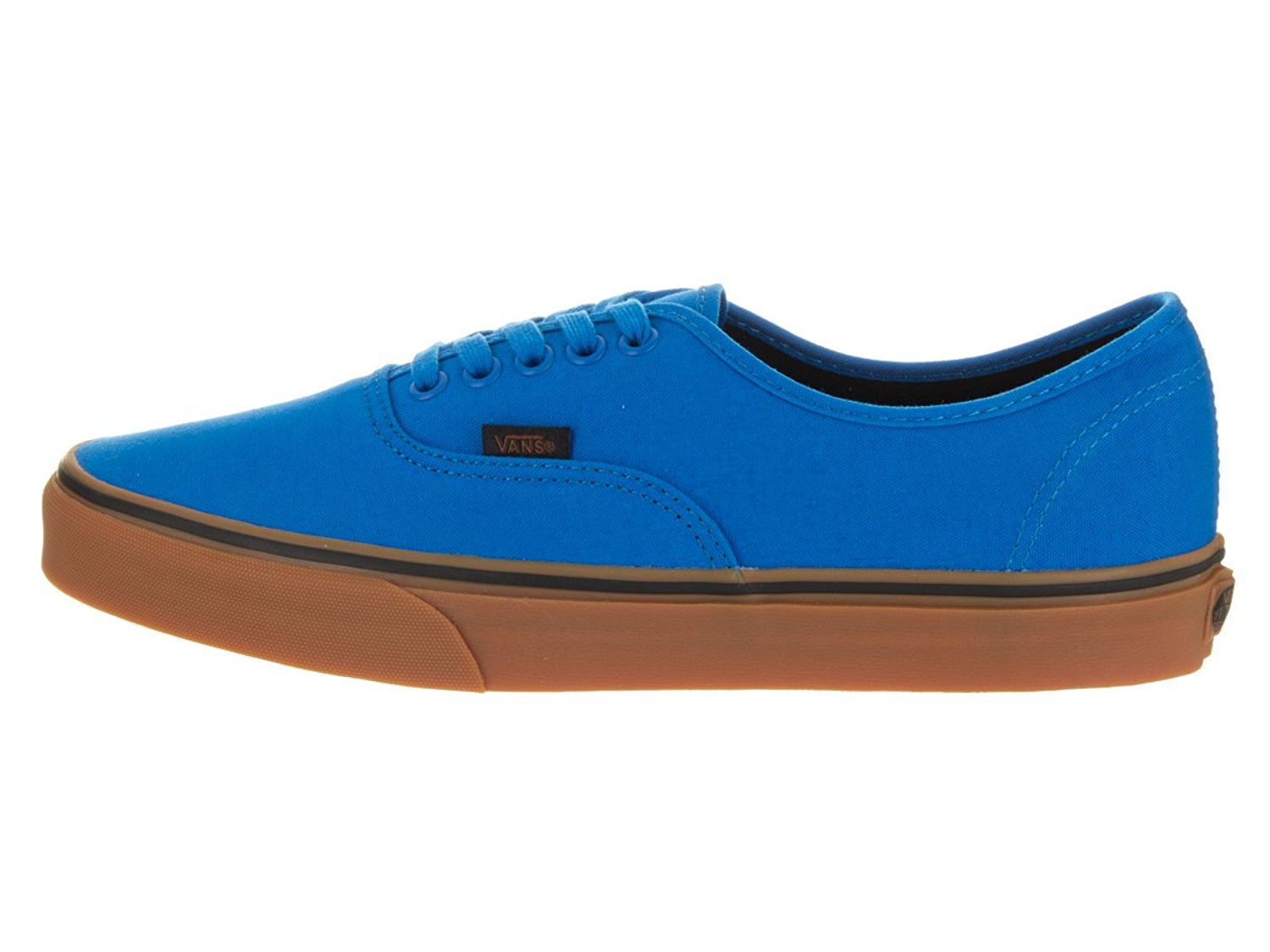 Vans Authentic Gumsole Imperial Blue/Black Men's Skate Shoes Size 10.5