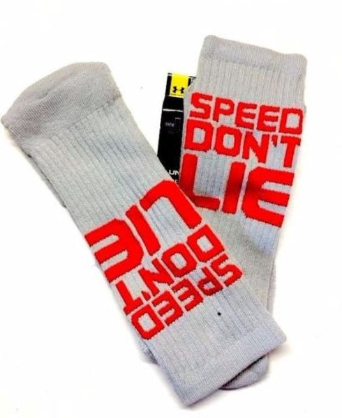 Under Armour Men's UA Speed Don't Lie Crew Sock Large