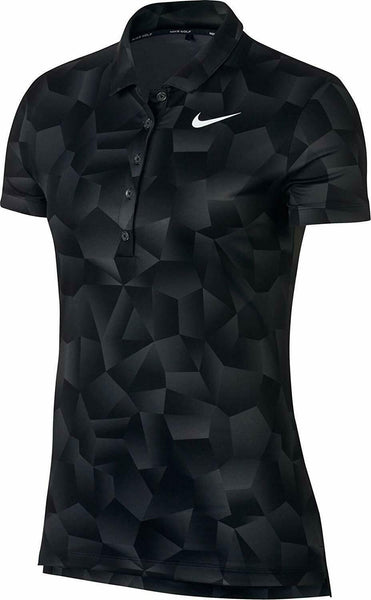 Nike Women's Dry Geo Printed Golf Polo Size M