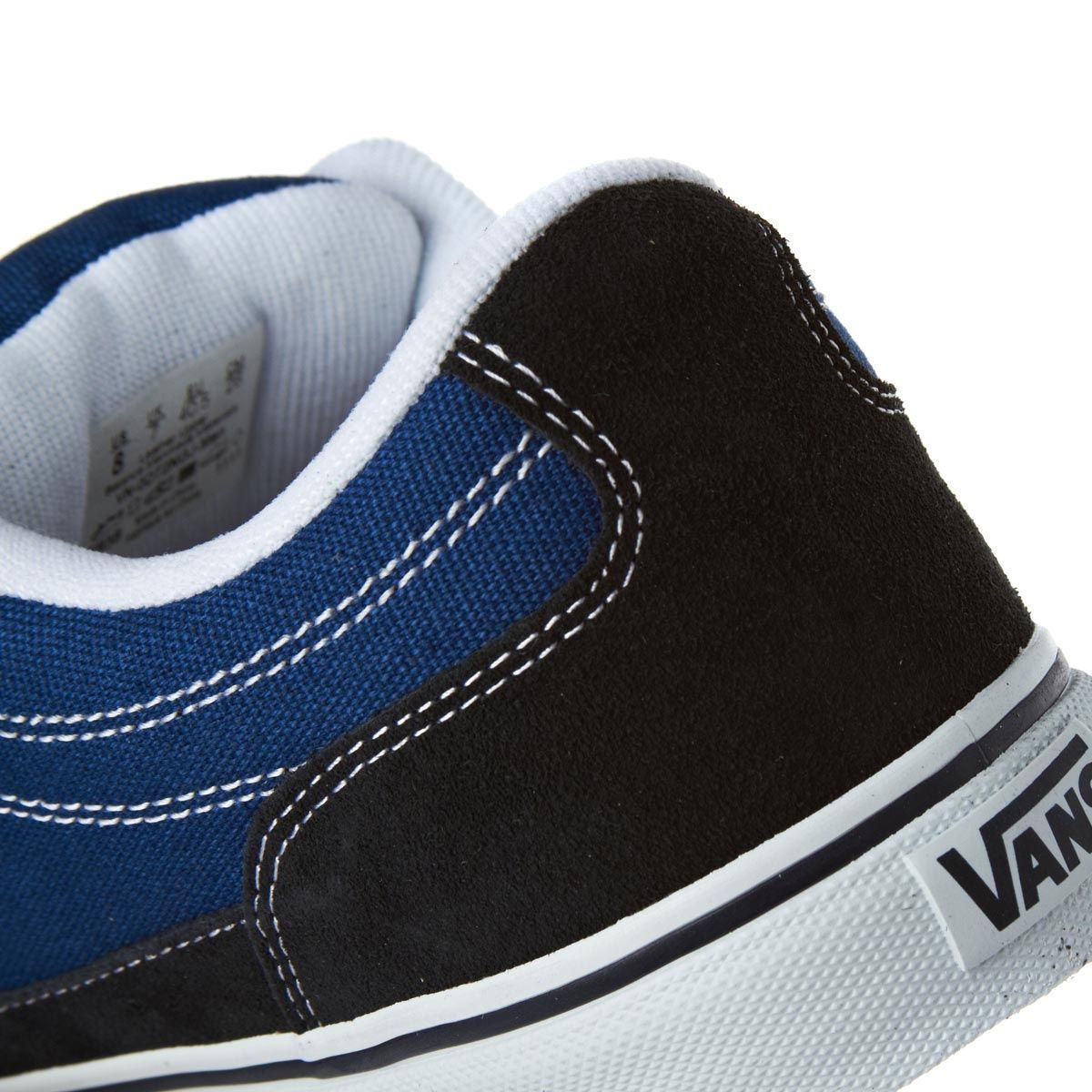 Vans Bearcat Navy/STV Navy Men's Classic Skate Shoes Size 9