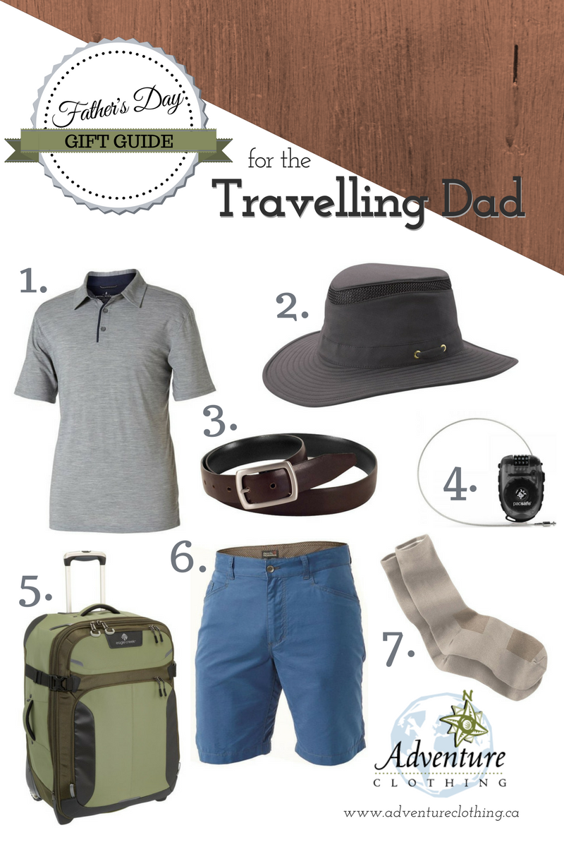 Father's Day Gift Guide for the Travelling Dad