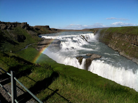 anna heckadon golden circle gullfoss waterfall iceland