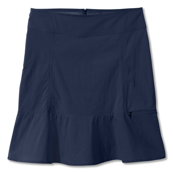 Royal Robbins Women's Discovery II Skirt in Deep Blue
