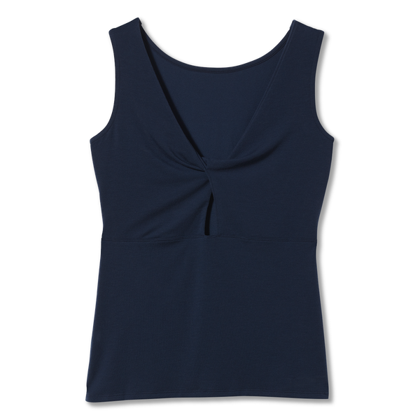 Royal Robbins Women's Essential Tencel Twist Tank In Deep Blue