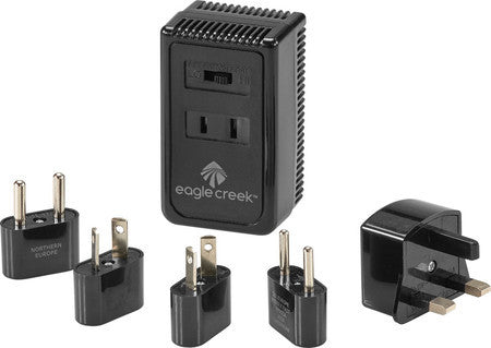 Eagle Creek Dual Wattage International Converter Set