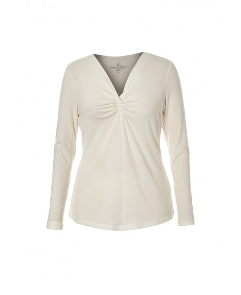 Royal Robbins Women's Essential Tencel V-Neck Long-Sleeve