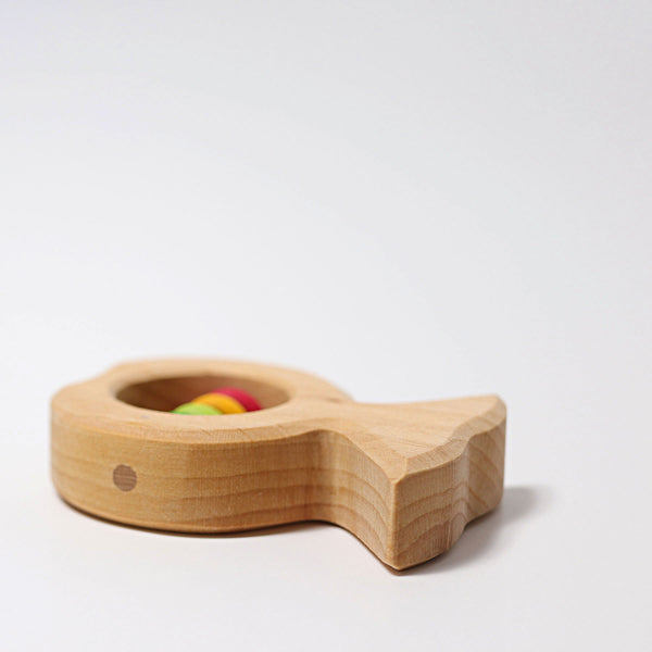 Grimm's Wooden Fish Rattle