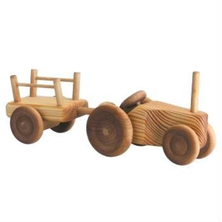 Debresk Tractor with Cart - Small