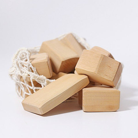 Grimm's Blocks Natural Waldorf, 15 pieces