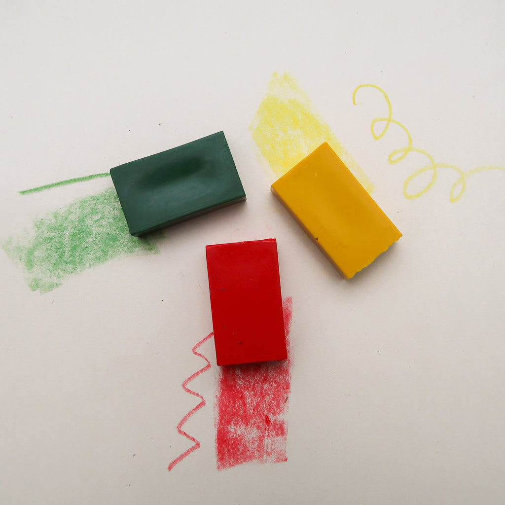 Block Crayon, Beeswax - Stockmar, additional colours