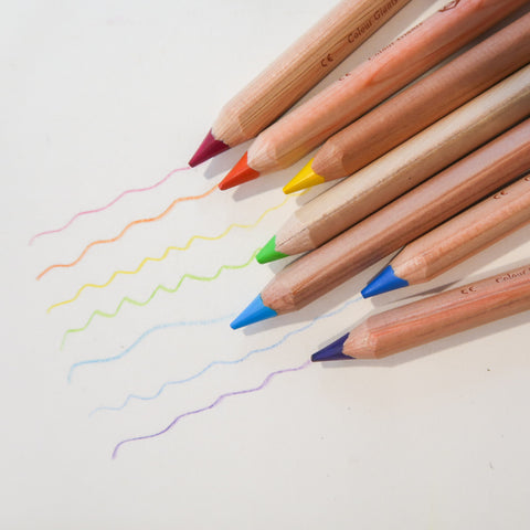 Coloured Pencil, Triangular - Stockmar